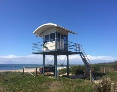 blacksmiths beach tower